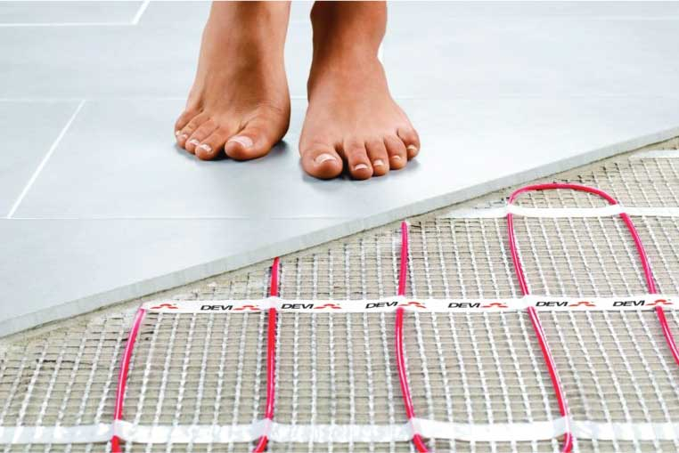 Radient heat american air experts Warm toes radiant heat